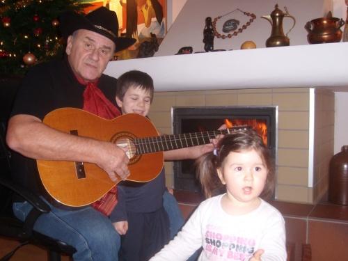 Pego i gitara